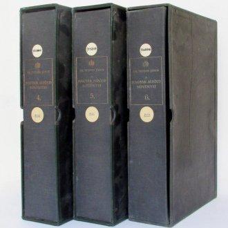 A Tuzson gyűjtemény tároló dobozai