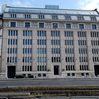 Az egykori Hangya Szövetkezet székháza