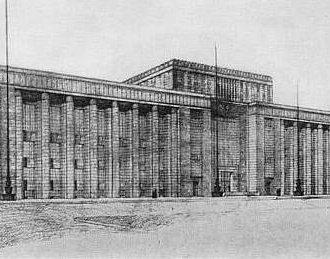 A budapesti Néprajzi Múzeum pályaterve
