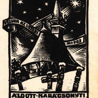 Fery Antal ex librise - Poór Ferenc és családja gyűjteménye, Balatoni Múzeum, Kisgrafikai gyűjtemény
