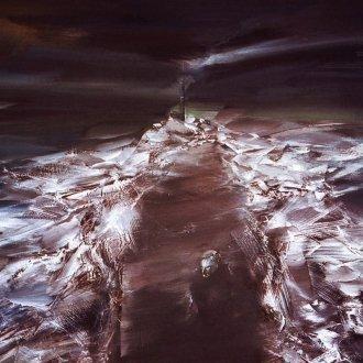 Csiszár Elek - A szemesi móló télen (1984)