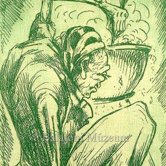 Boszorkányos ex libris 1923-ból