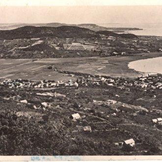 Látkép Badacsonyörsről a Badacsony hegy felől (Balatoni Múzeum, Képeslap gyűjtemény)