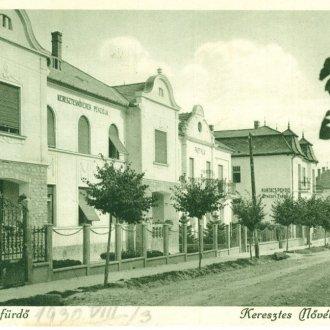 A Keresztes Nővérek Panziója Hévízen (Balatoni Múzeum, Képeslap gyűjtemény)