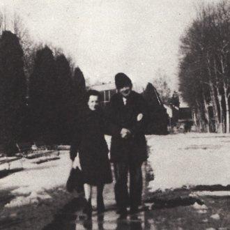 A hévizi tófürdőből jövet a 60-as évek közepén