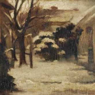 Basilides Sándor: Havas udvar (1924)