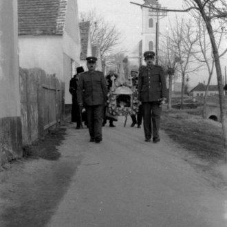 Betlehemesek - Dr. Petánovics Katalin felvétele (Balatoni Múzeum, Fotótár)