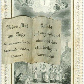 Búcsúcédula az imakönyvből
