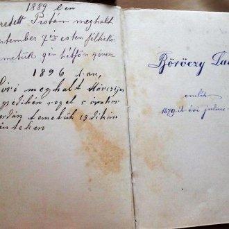 Darnay-Dornyai Béla édesanyjának imakönyve