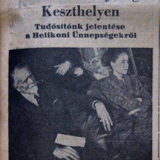 Képes tudósítás részlete a Napló 1965. május 30-i lapszámából