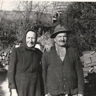 Idős házaspár - Nemesvita, 1965