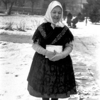 Asszony sármelléki népviseletben - 1972