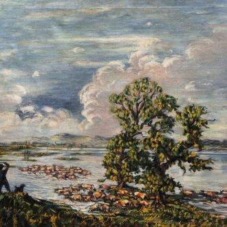 Boromisza Tibor: Keszthelyi öböl (é.n.)