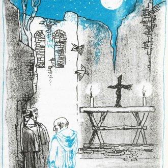 """Kun Gábor és Gáspár atya - """"Éjszaka a kolostorban"""""""
