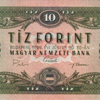 1969-es 10 forintos