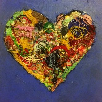 Marie-Soleil Blanchet művészetterapeuta alkotása a kanadai Alzheimer Society honlapjáról