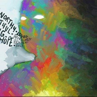 """Megan Moore """"True Colors"""" c. alkotása egy kaliforniai egyetem művészetterápiás kiállításán szerepelt"""
