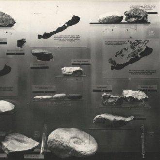 Fotó a korabeli kiállítási katalógusból - részlet az II. teremről