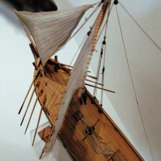 Hajózás a Balatonon - állandó kiállítás a Balatoni Múzeumban