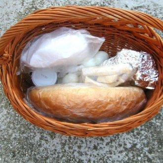 Szentelt ételek - Fotó: Gyanó Szilvia