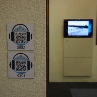 QR kódok az állandó kiállításban