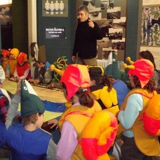 Múzeumpedagógiai foglalkozás az állandó kiállításban 2012-ben