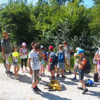 Kirándulás az egyik nyári táborban  2018-ban