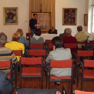 Irodalmi találkozó Praznovszky Mihállyal