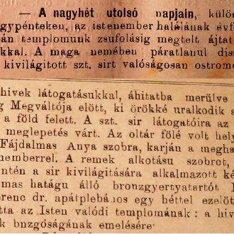 Cikk a Balatonvidék 1902. március 30-i számából