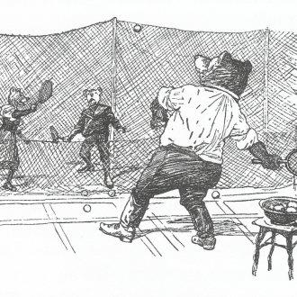 Teniszező mackók