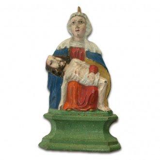 A sümegi Fájdalmas Anya másolata a Balatoni Múzeum néprajzi gyűjteményében