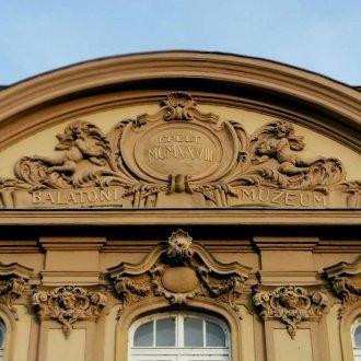Balatoni Múzeum épülete - homlokzat
