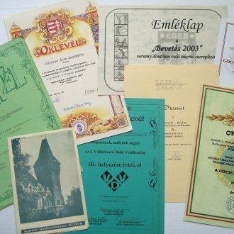 6. kép - Kolontól Zaláig, Bevetés 2003, Vállalkozói Diák Vetélkedő, Színházi Világnap és a rendszeres Göcsej Harci Túra