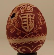 Hímes tojás címerrel