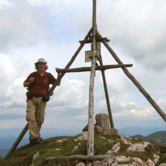 Az erdélyi Nagy-Hagymás csúcsán