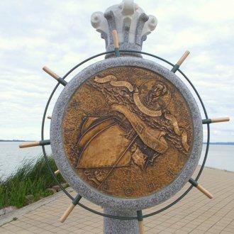 Béres János szobrászművész alkotása (A szerző felvétele)