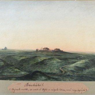 """Bácskából - """"Bajmok mellett, itt vették el 849-ben a ráczok """"Csicsa"""" nevű nagy ágyúját"""
