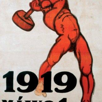Bíró Mihály grafikája, 1919. május 1. (Kép forrása: https://www.moma.org)