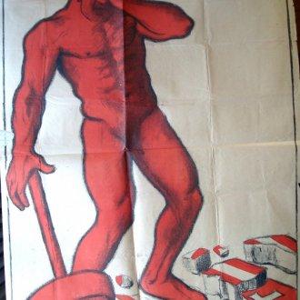 Manno Miltiades plakátja