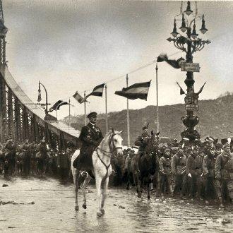 Horthy Miklós Budapesten, 1919. november 16.