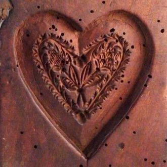 Mézeskcsalács forma (Balatoni Múzeum, Néprajzi gyűjtemény)