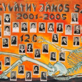 A 2005-ben végzett évfolyam tablója