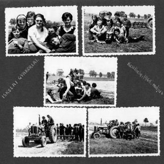 Fotók egy 1965-ös iskolai gyakorlatról