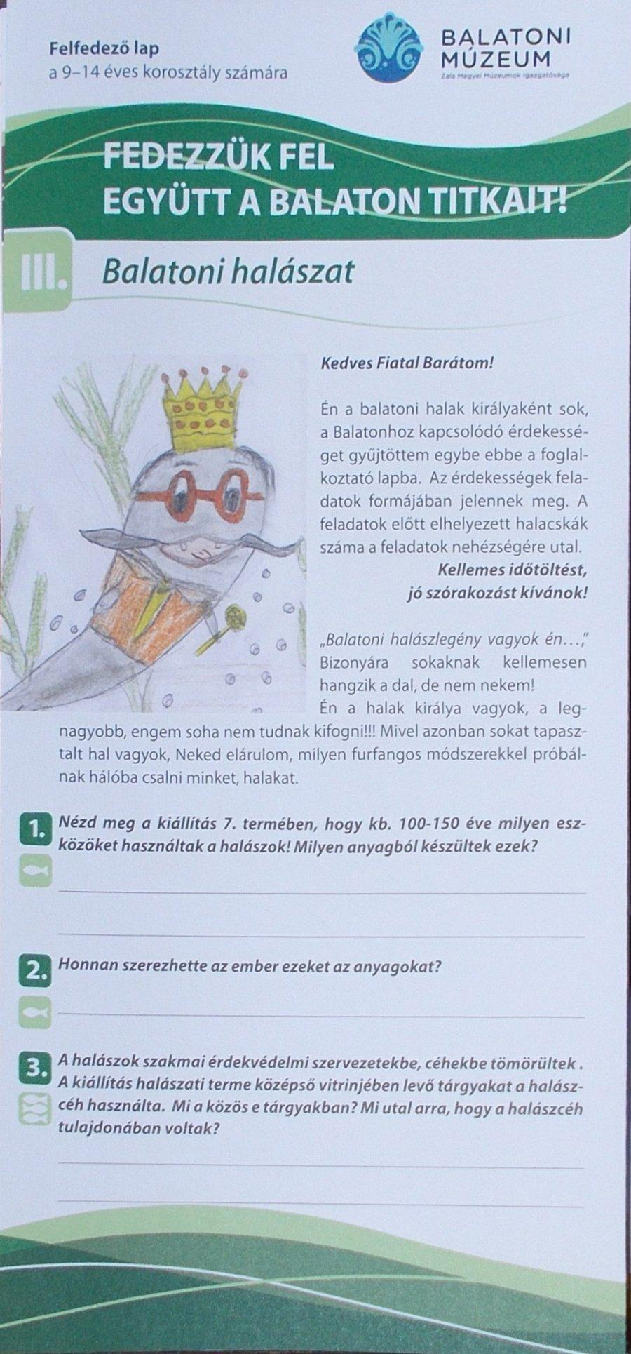 Fedezzük fel együtt a Balaton titkait! III Balatoni halászat